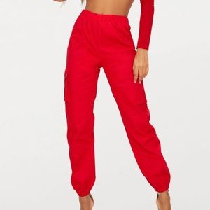 ❤️RED CARGO PANTS❤️